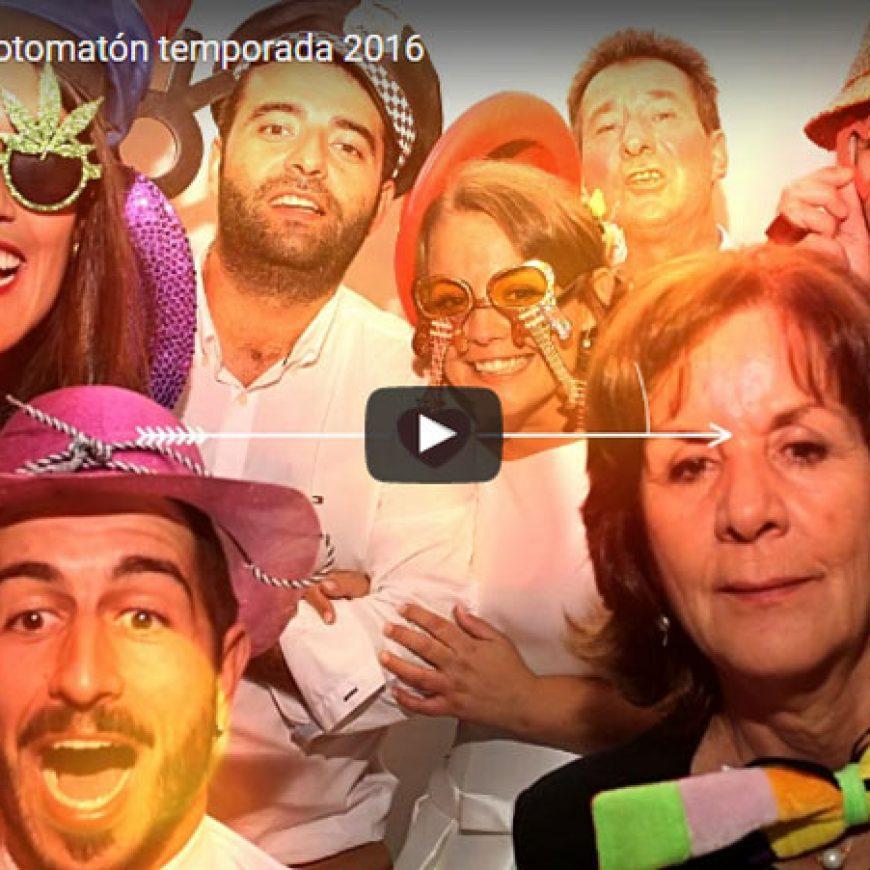 Homenaje bodas fotomatón temporada 2016